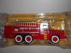 Berliet FF 6x6 1:43 Ixo Hachette Autobomba CAMION de bomberos Diecast