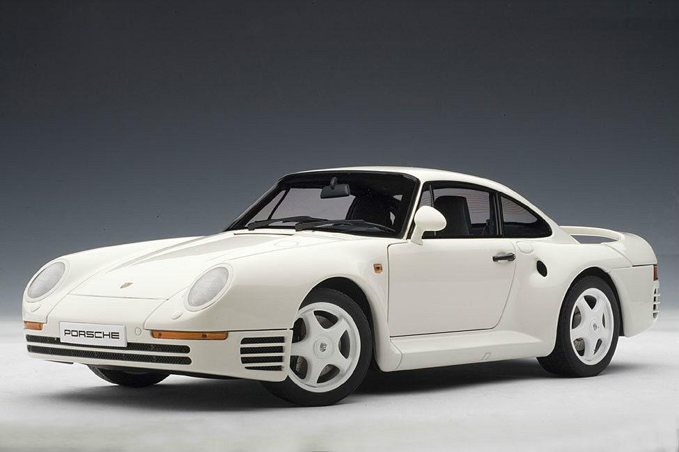Porsche 959 blanc 1 18 by AUTOart 78083 BRAND NEW IN BOX DISCONTINUED MODEL RARE