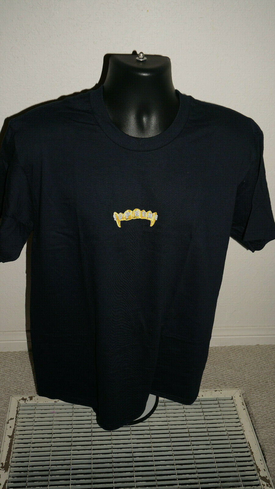 Supreme Fronts Tee T Shirt Navy L 19SS