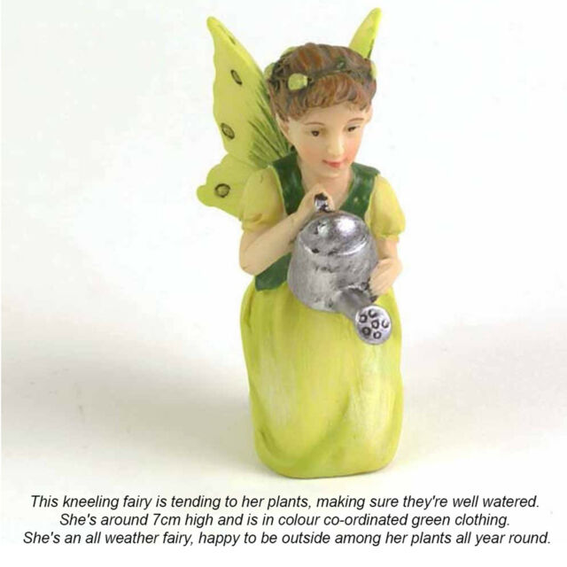 New Fairy Figures Set Of 3 Small 7cm Fairy Garden or Home Figurines