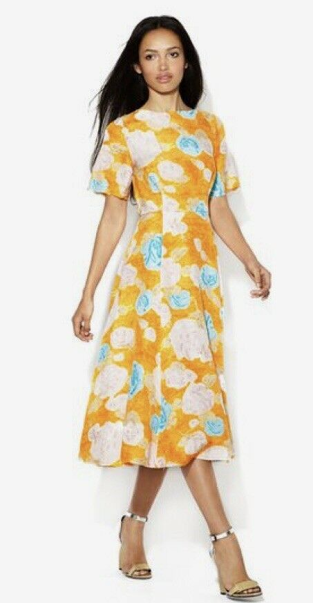 Anthropologie Plenty By Tracy Reese Deconstructed Frock Dress Größe 2