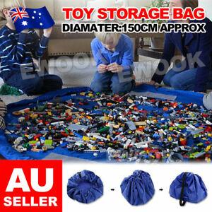 Large-150cm-Portable-Kids-Toy-Storage-Bag-and-Play-Mat-Lego-Toys-Organizer-Mat