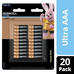 Duracell Ultra AAA Batteries 20 pack