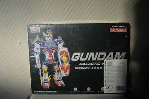 PUZZLE-3D-GUNDAM-GALACTIC-HEROES-ROBOT-PLANET-56-PIECES-NEUF-FIGURINE