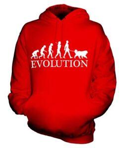 Cappuccio Donna Unisex Felpa Man Mastiff Uomo Con Tibetano Evolution Of qwpBPPZ0