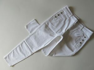 32 rise Jeans In Nwt J Twill Brand Mid Stretch White Skinny Button 886943890416 Zion Pocket BxZAIOZqWw