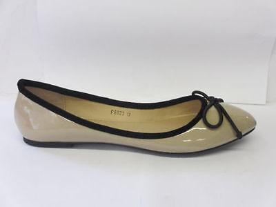 señoras de la venta en Bailarinas Estilo Zapatos con lazo f8823 ropa uso diario