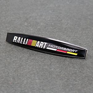 Auto-Styling-Dekor-Aufkleber-Abzeichen-Emblem-Zubehoer-fuer-Mitsubishi-Ralliart
