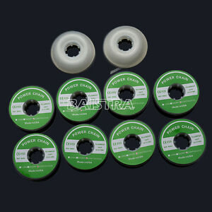 HOT-10-Rolls-Dental-Orthodontics-Elastolink-Chain-Clear-Color-Continuous-Italy