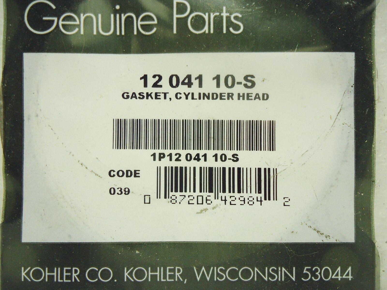 Kohler 12 041 10s Cylinder Head Gasket | eBay