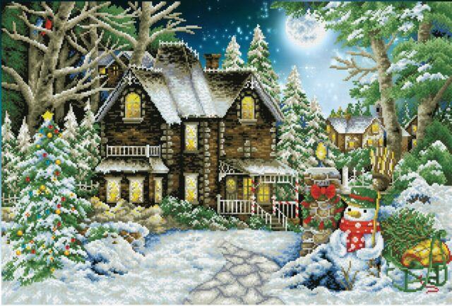 Diamond Dotz - Winter Wonderland 98x69cm - Diamond Art 5D Embroidery Facet Art P