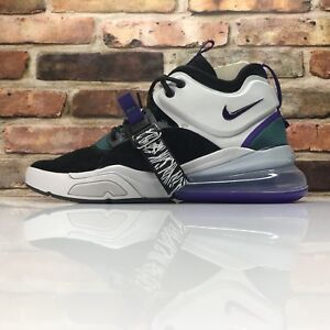 2b0b0afa923b0 NIKE Air Force 270 Black Court Purple Dark Atomic AH6772 005 Mens ...