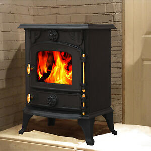 multifuel woodburner stove wood burning burnerfire log cast iron