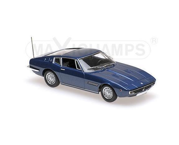 MASERATI GHIBLI COUPÉ-1969-blueE METAL 940123321 Maxichamps Minichamps 1 43 New