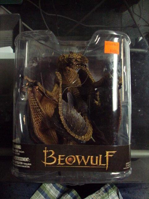 McFarlane Beowulf movie DRAGON figure VHTF Rare retired Beowulf Son