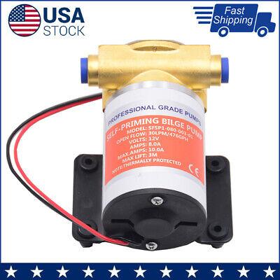 Jabsco 18660-0121 Water Puppy Self Priming Marine Utility Pump 12V DC Bronze