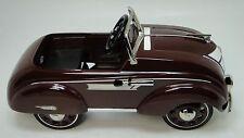 Pedal Car 1930s Plymouth Race Sport Concept Hot Rod Vintage Metal Midget Model