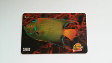 MALAYSIA PHONE CARD CORAL FISH MINT CONDITION UNIPHONE