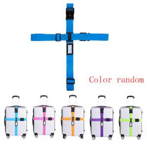 Travel-Luggage-Suitcase-Cross-Strap-Baggage-Bag-Backpack-Belt-Coded-Lock