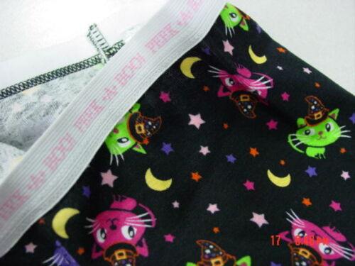 NWT Toddler 2 piece Halloween Themed  Pajamas Girls Pink Kitty Cat Wickedly Cute