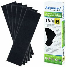 Premium Carbon Activated PRE-FILTER 6-Pack For Germ Guardian AC4800 AC4825e) B