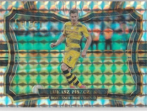 PANINI SELECT foot 2017-18 terrain PRIZM PARALLEL FOOTBALL CARDS #201 à 300