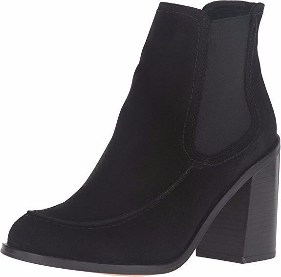 acquista marca Brand New New New Shellys London Donna  Ashley nero Suede Ankle avvio, Dimensione 7  prezzi bassi di tutti i giorni