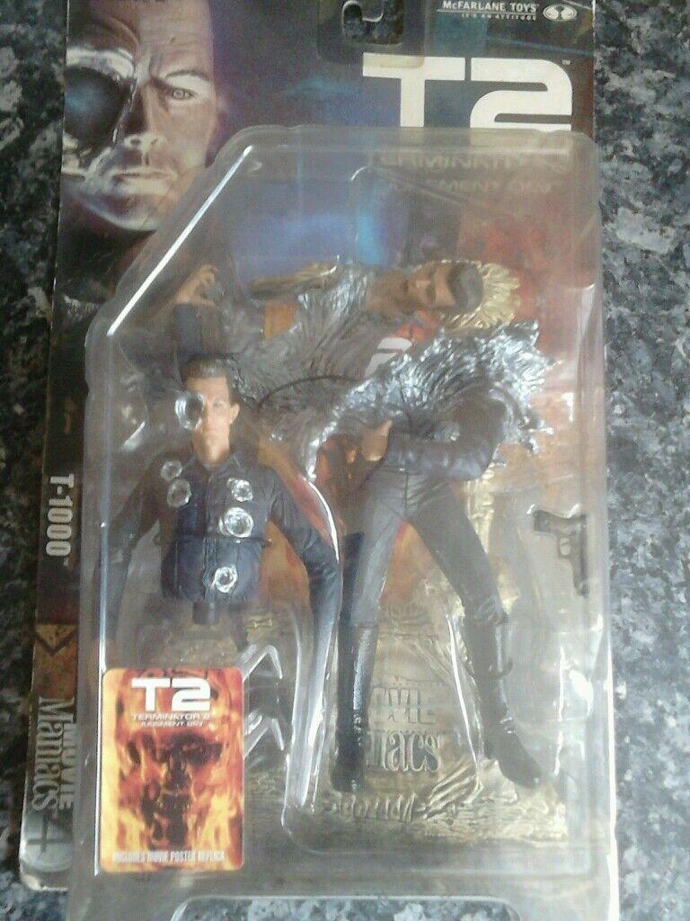 Terminator 2 T-1000 Figura Mega Raro