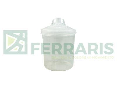 SATA RPS tazze monouso usa e getta da 900 ml con filtro 125 µm vernice 10 pezzi
