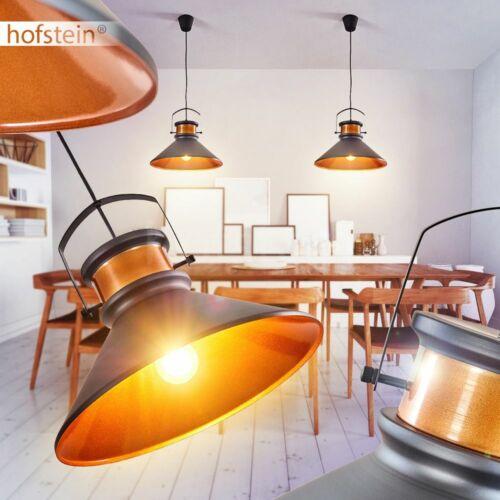 Suspension Lampes rétro de cuisine salon sommeil ESS Chambre Pendule Feux Noir//Cuivre
