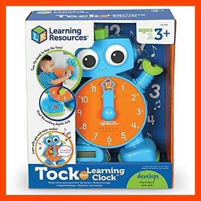 Tock The Learning Clock Educational Talking & Teaching ...