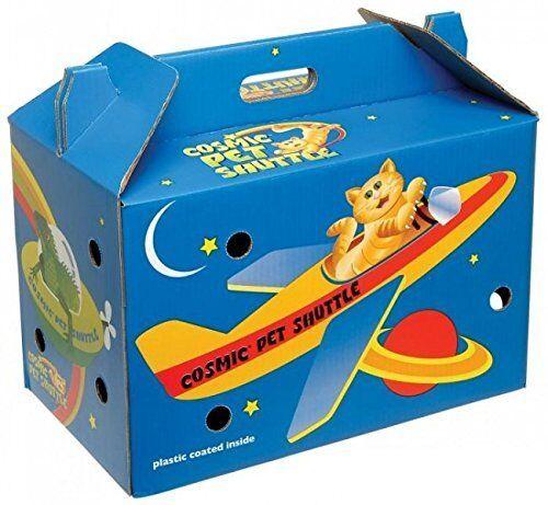 Cosmic Pet Shuttle Cardboard Carrier
