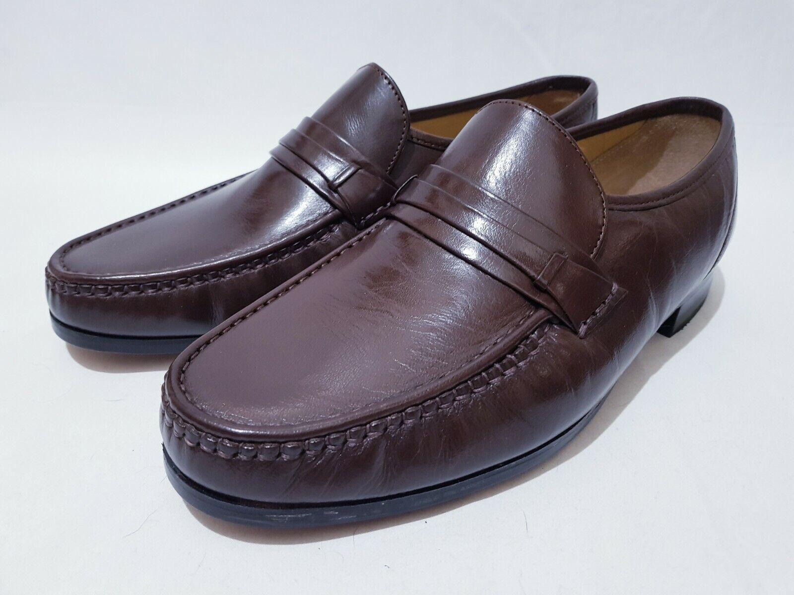 Mens Clarks Shoes Slip on Loafer Padded Comfort Premium Leather UK 9, EUR 43