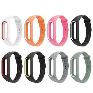 Original For Xiaomi Mi Band 2 Replacement Strap Adjustable Soft Silicone Belt Wristband Bracelet For Smart Bracelet Soft Home