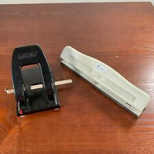 Rolodex P 200 Punchodex 2 Hole Punch And 3 Hole Punch Lot