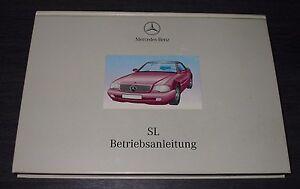 Betriebsanleitung-Mercedes-R-129-SL-280-320-500-600-AMG-Stand-Dezember-1998
