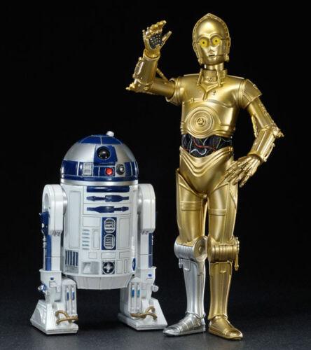 STAR WARS ARTFX C-3PO e R2-D2 Statua PVC CONFEZIONE DOPPIA