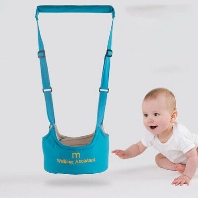 BabyToddler Walking Harness Aid Assistant Rein Learn to Walk Safety Equipment//Uk