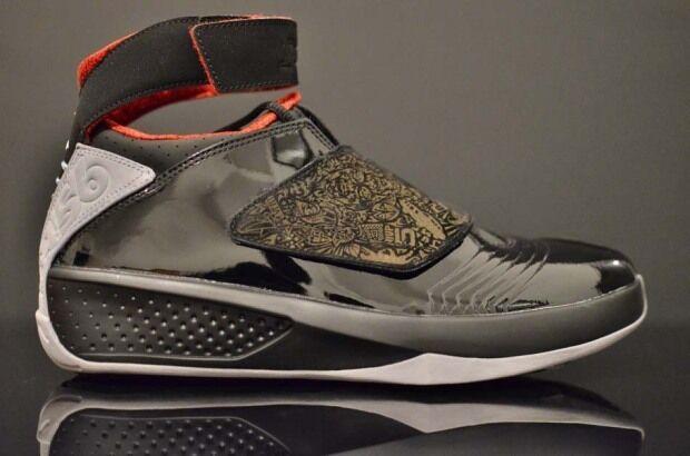 Nike Air Jordan Negro Retro XX 20 Sigilo Negro Jordan Rojo Universitario 310455-002 4b4cad
