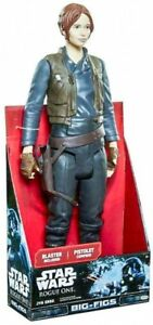 """Jyn Erso 18/"""" Figure with Pistol Star Wars Rogue One Kids Toy Action Big-Figs"""