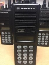 Motorola Mts 2000 Flashport Uhf Two Way Radio Withfull Key Pad