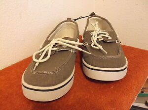 """brand new men's """"faded glory"""" pair of khiki casual shoes"""