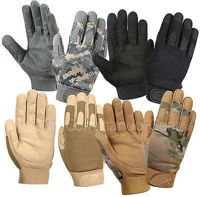 Lightweight All Purpose Duty Gloves - ACU Digital, Black, Coyote Brown / S-2XL