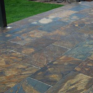 Rustic Schiefer In 80x80 Afrika Naturstein Naturstein Platten Boden