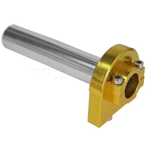 "CNC Aluminum Universal Motorcycle Handlebar Twist Throttle Grips 7//8/"" 22mm"