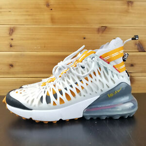 Details about Nike Air Max 270 ISPA MEn's Shoes Ghost Aqua White Amber Rise BQ1918 102