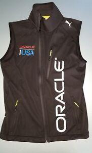 Shop für neueste lebendig und großartig im Stil beste website Details about PUMA oracle xs x small black neon sailing vest cup asymmetric  USA
