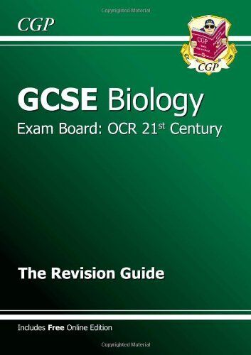 1 of 1 - GCSE Biology OCR 21st Century Revision Guide (with online edition) (A*-G cours,