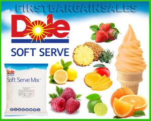 Dole-Soft-Serve-Mix-Fruit-Flavors-Frozen-Treats-Dessert-Dairy-Gluten-Fat-Free