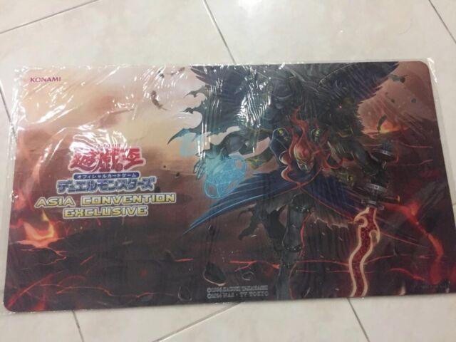 Cherubini 2019 Judge Playmat Ebon Angel of the Burning Abyss Yu-Gi-Oh